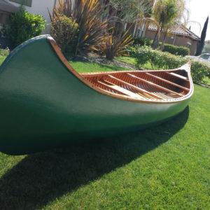 big green boat